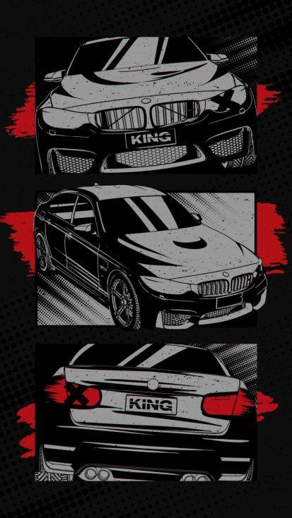 BMW King iPhone Wallpaper
