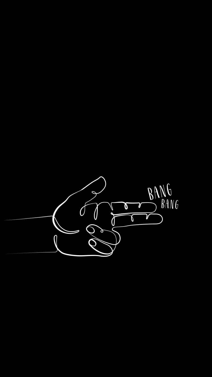 Bang Bang iPhone Wallpaper