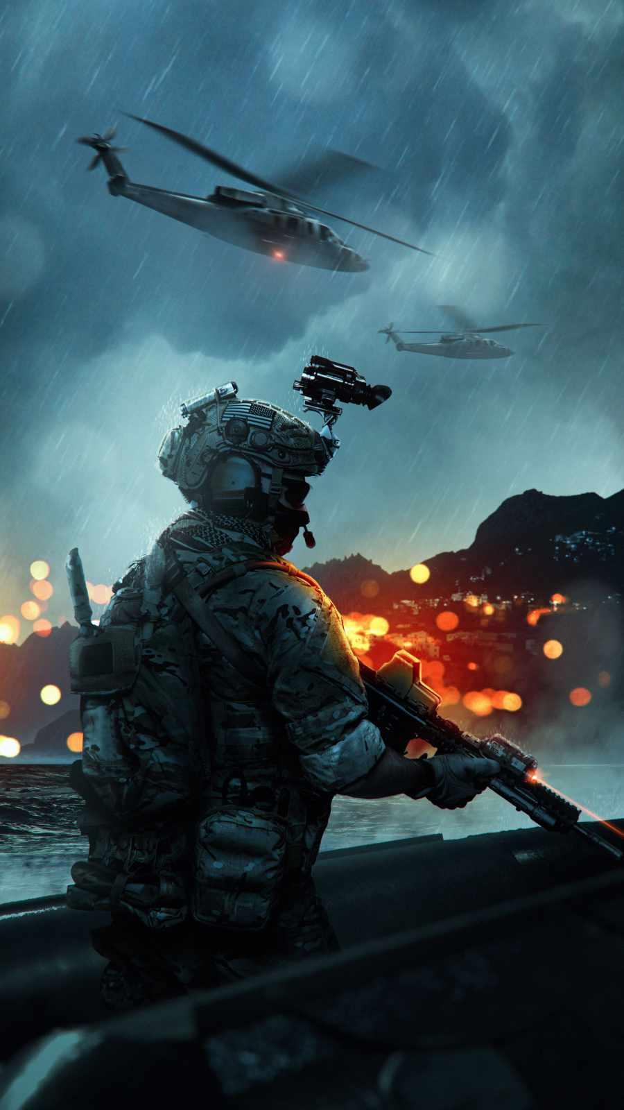 Battlefield iPhone Wallpaper