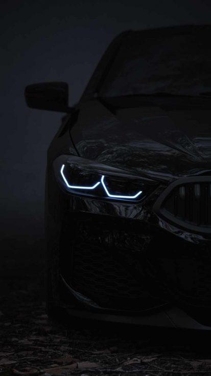 Black BMW iPhone Wallpaper