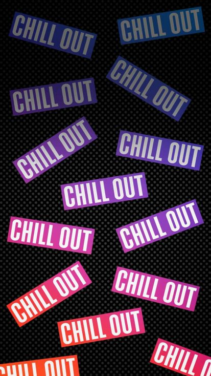 Chill Out iPhone Wallpaper