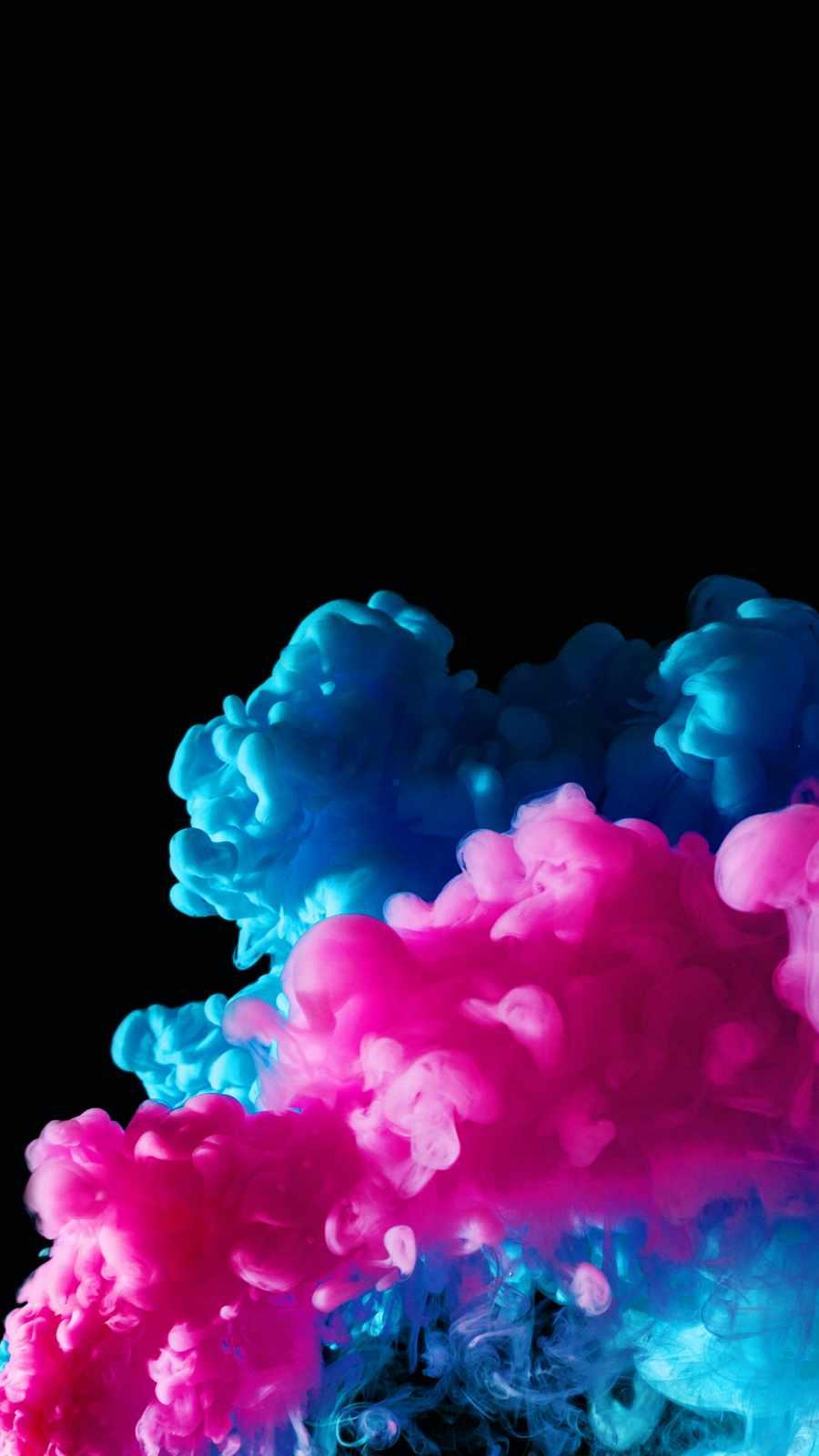 Color Smoke in Dark