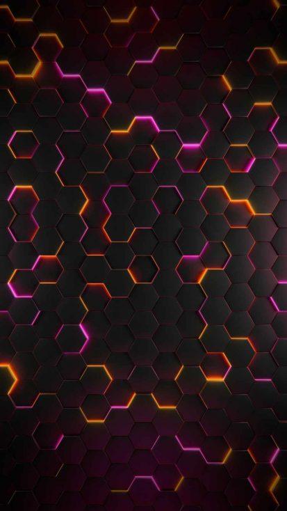 Colorful Hexagon