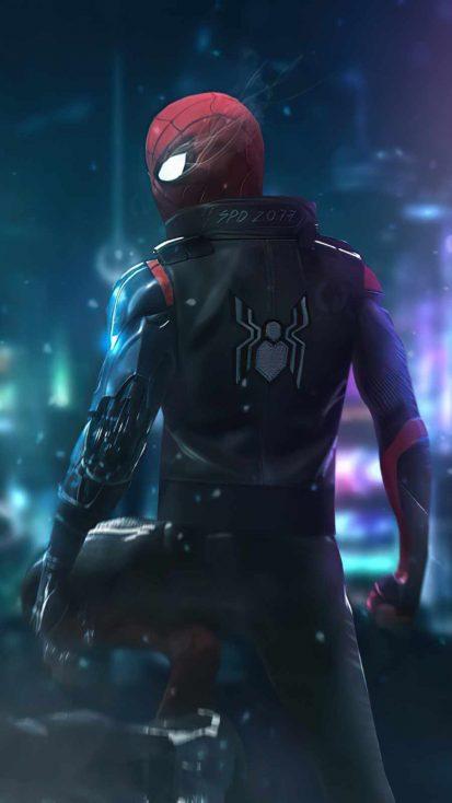 Cyberpunk Spider Man