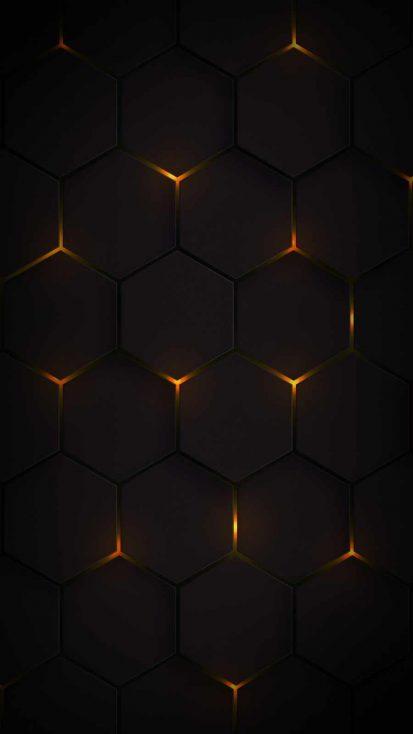 Dark Hexagon Lights