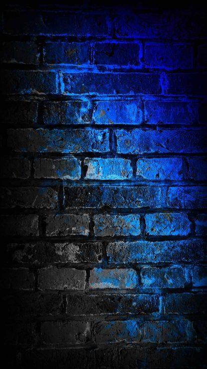 Dark Wall iPhone Wallpaper