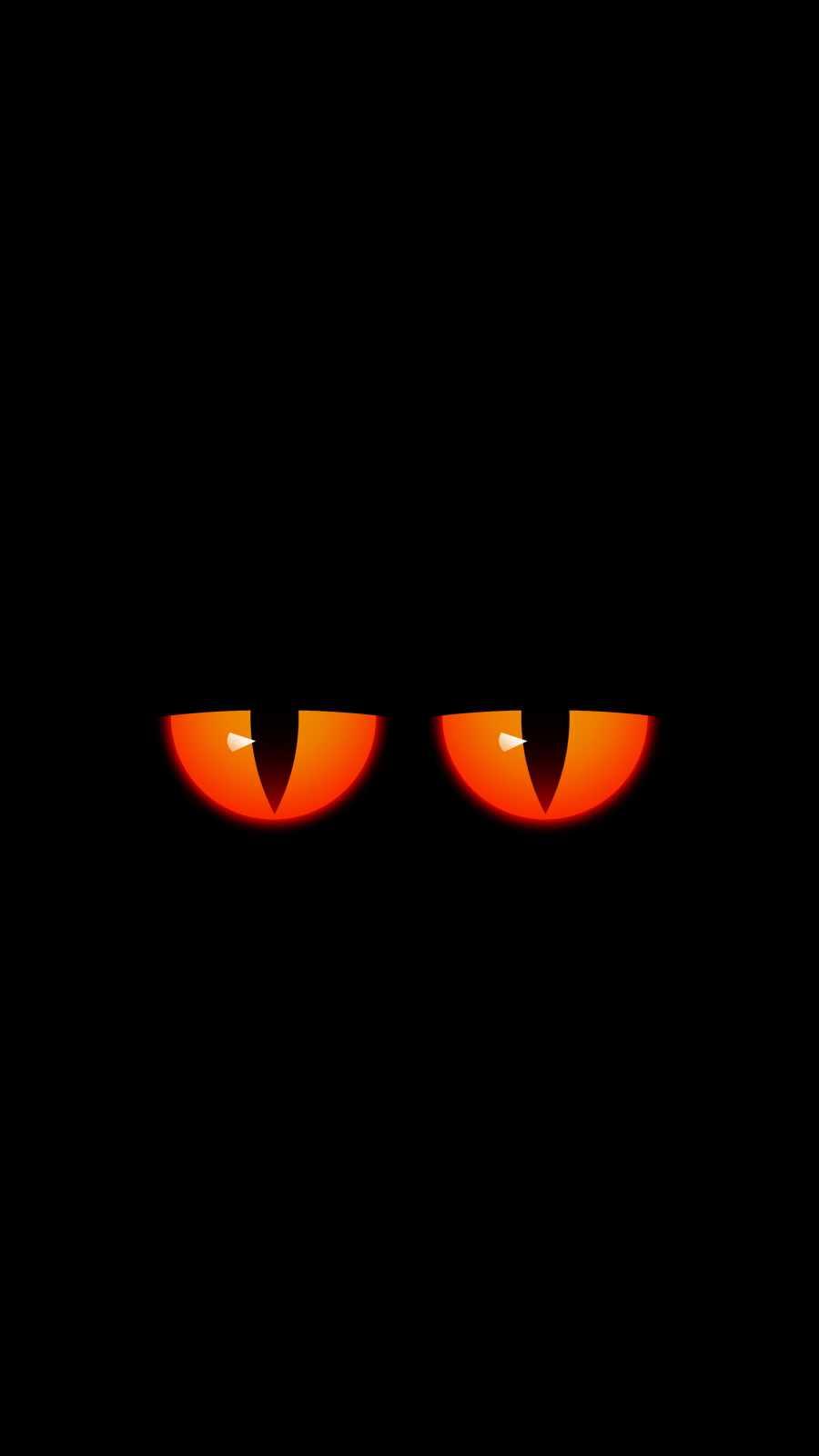 Devil Eyes iPhone Wallpaper