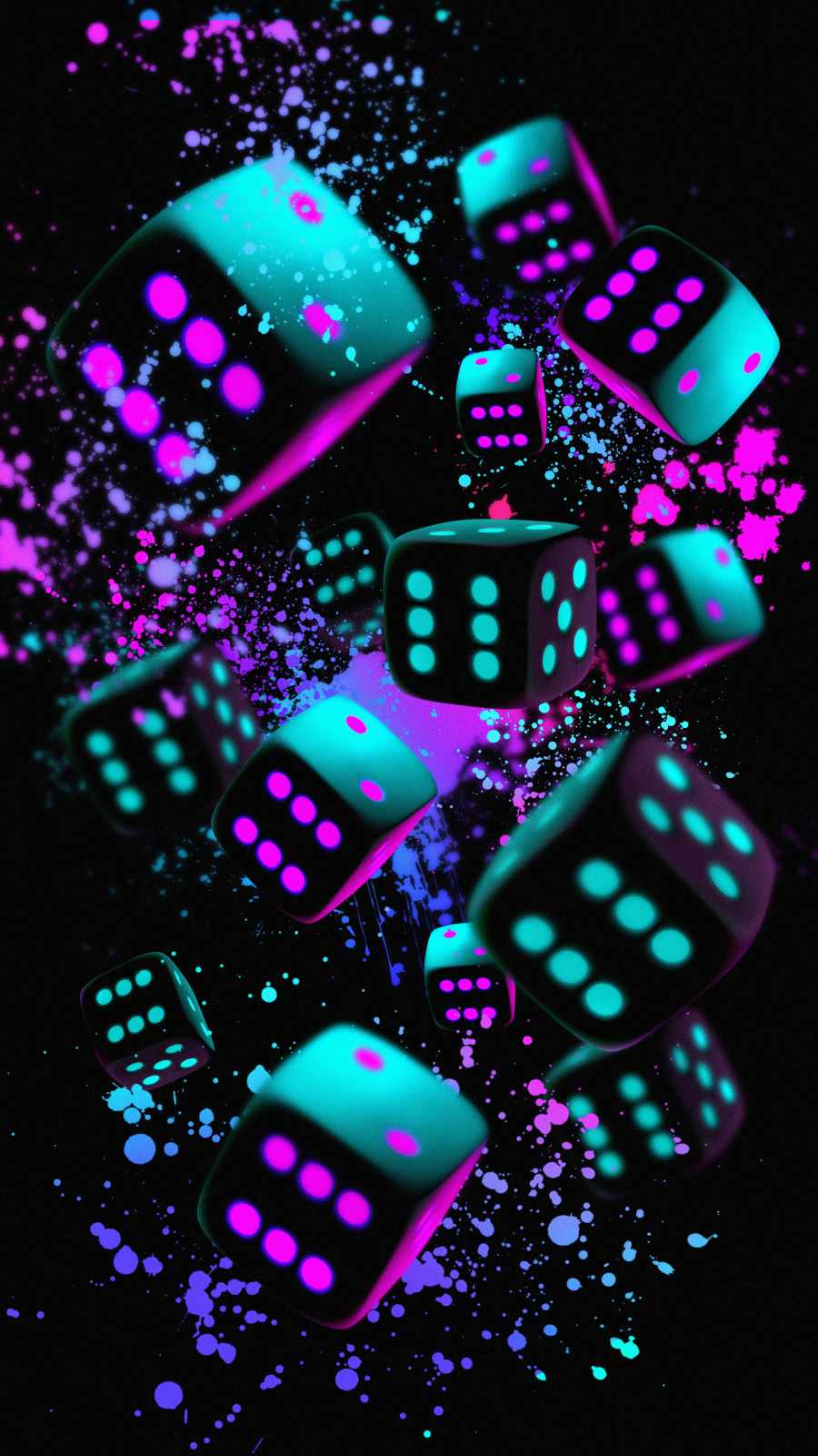 Dices iPhone Wallpaper