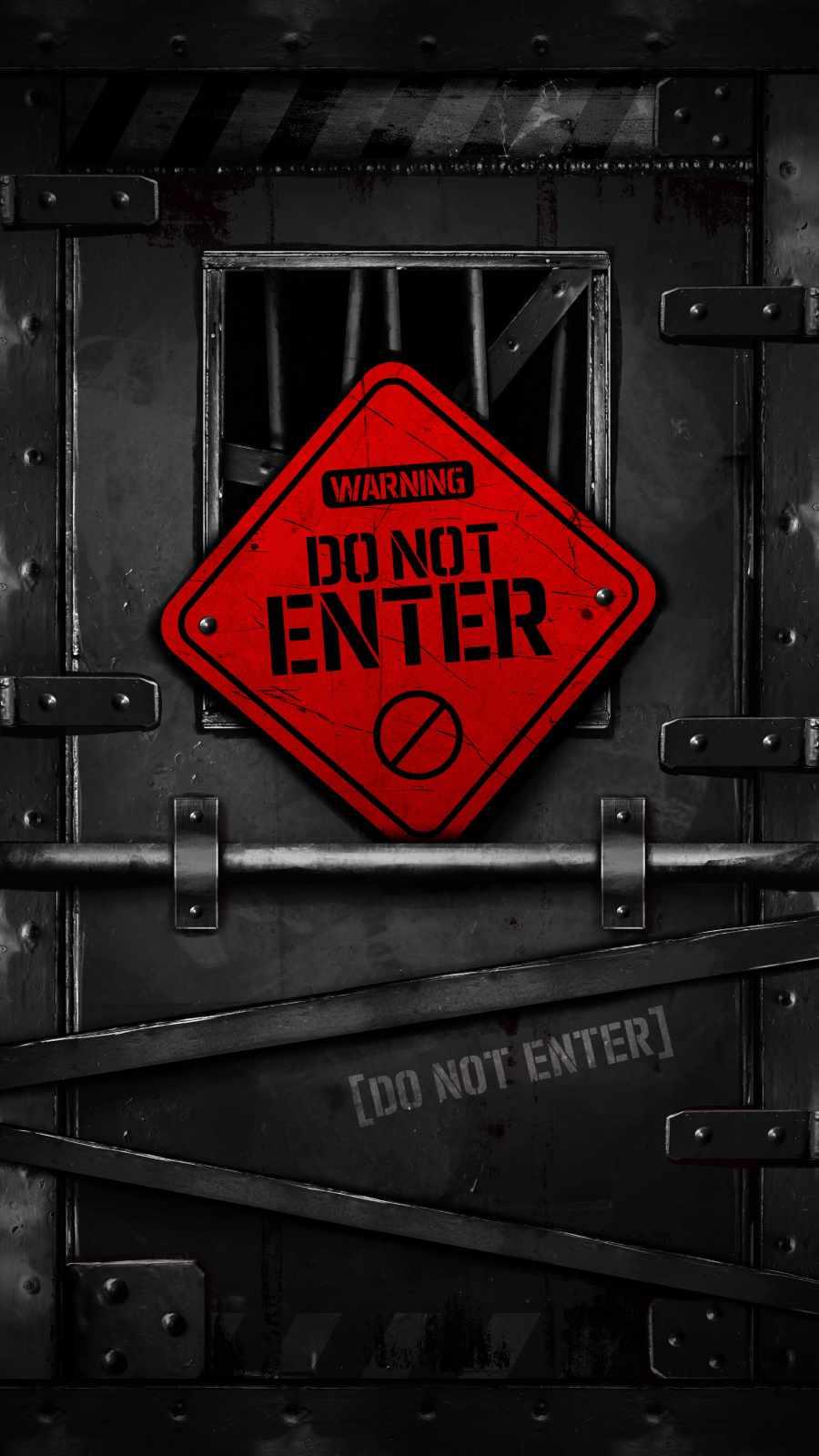 Do Not Enter Gate