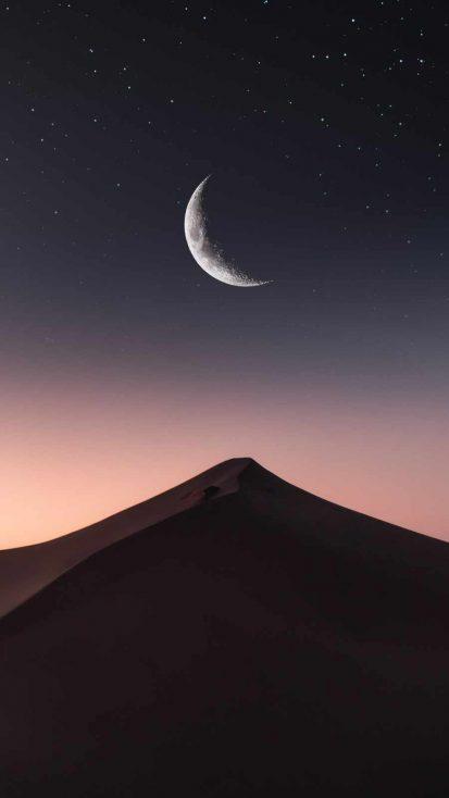 Dune Mountain Night