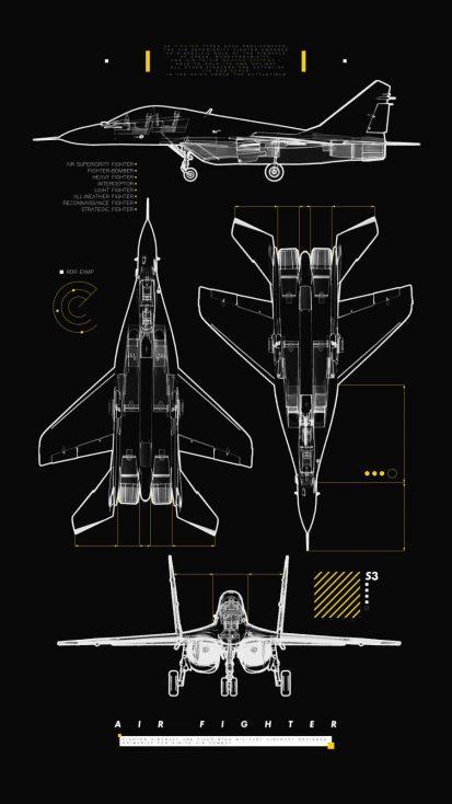Fighter Jet Anatomy