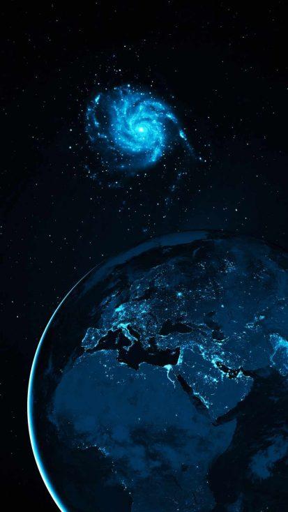 Galaxy Near Earth