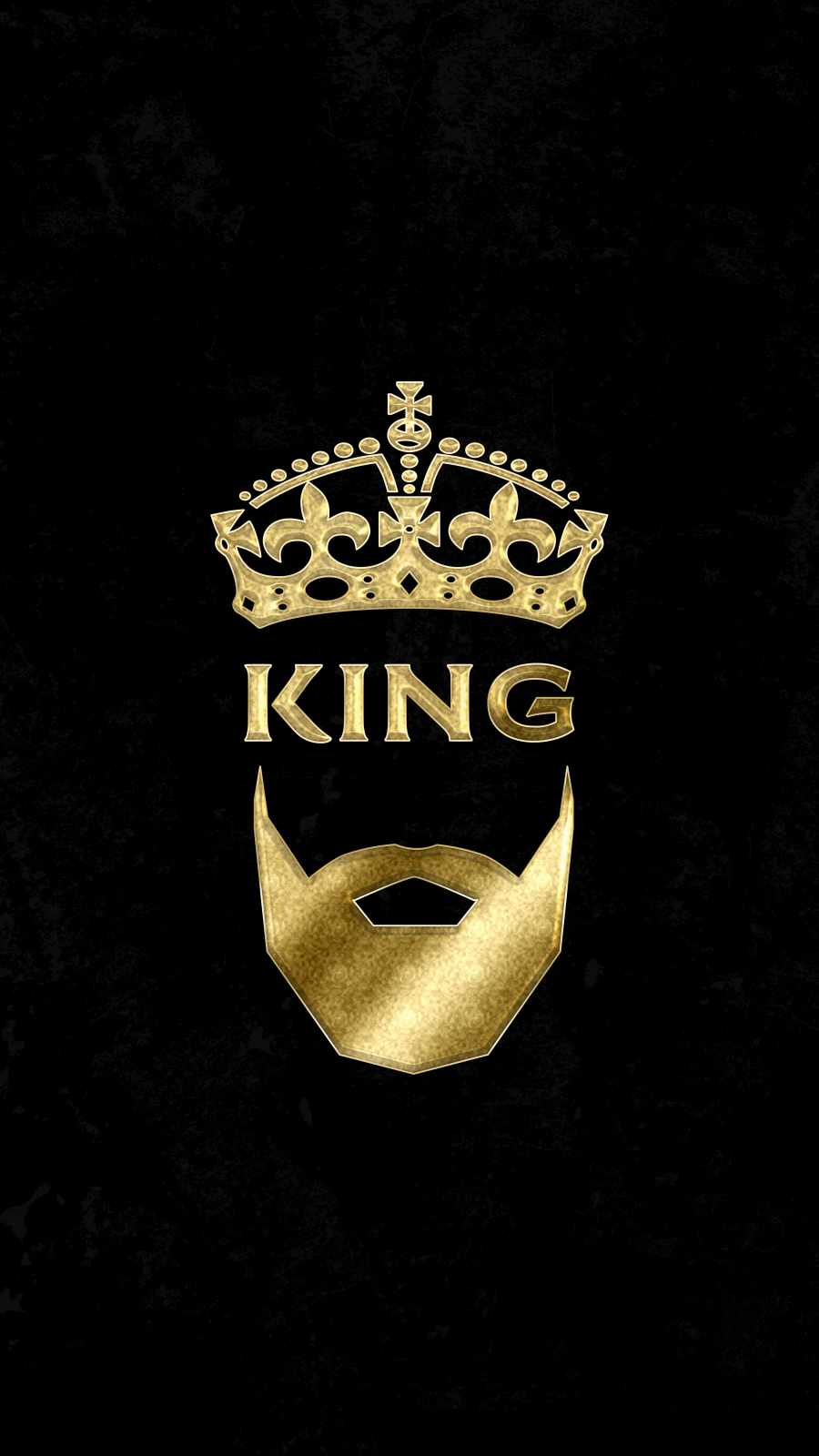 Golden King iPhone Wallpaper