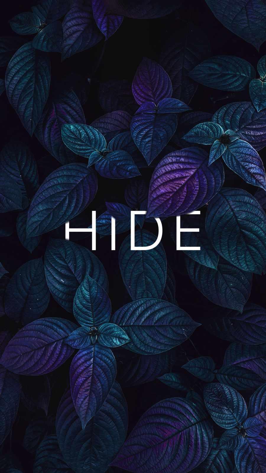 HIDE iPhone Wallpaper