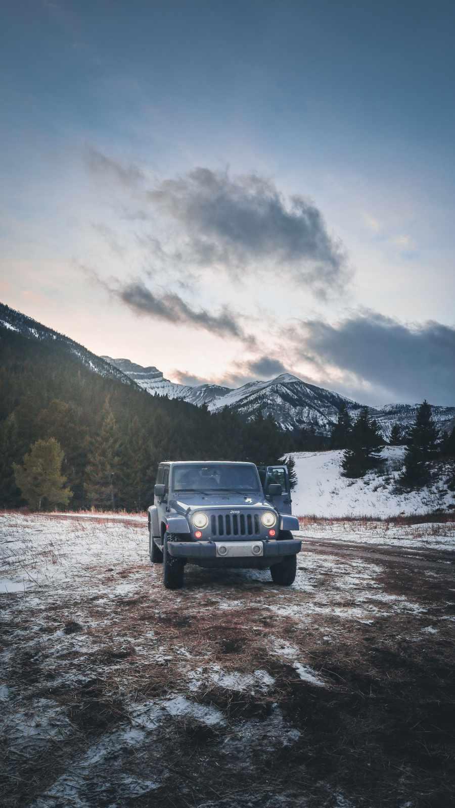 Jeep Rubicon North Pole