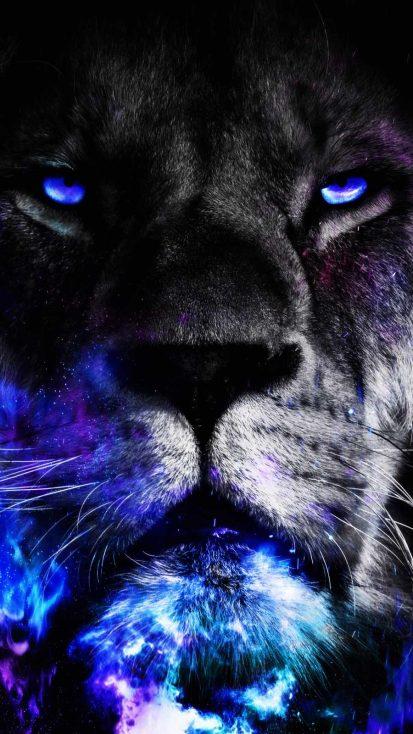Lion King Eyes iPhone Wallpaper
