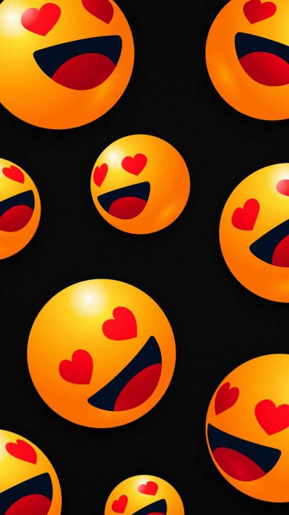 Love Faces iPhone Wallpaper