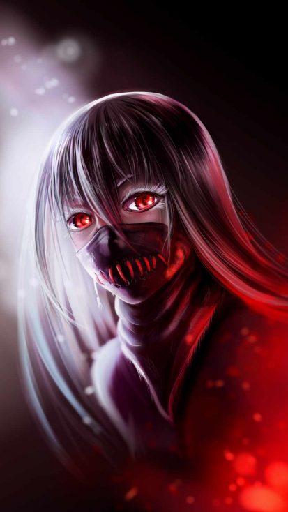 Masked Anime Girl