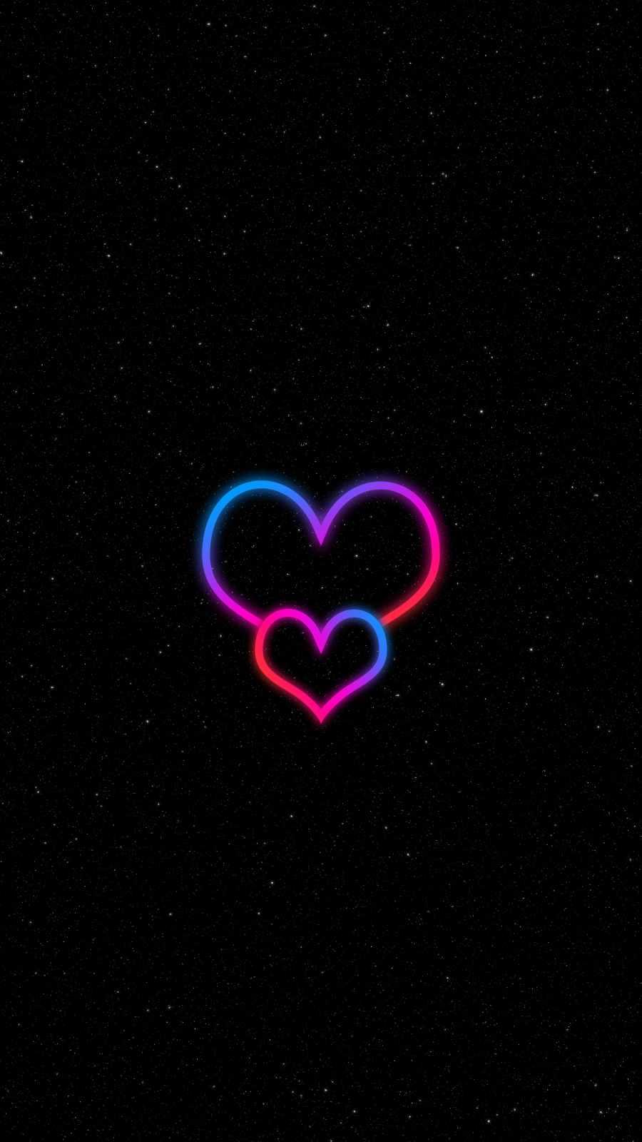 Neon Heart Minimal