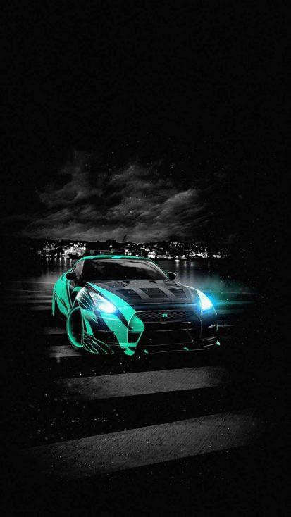 Nissan GTR Night
