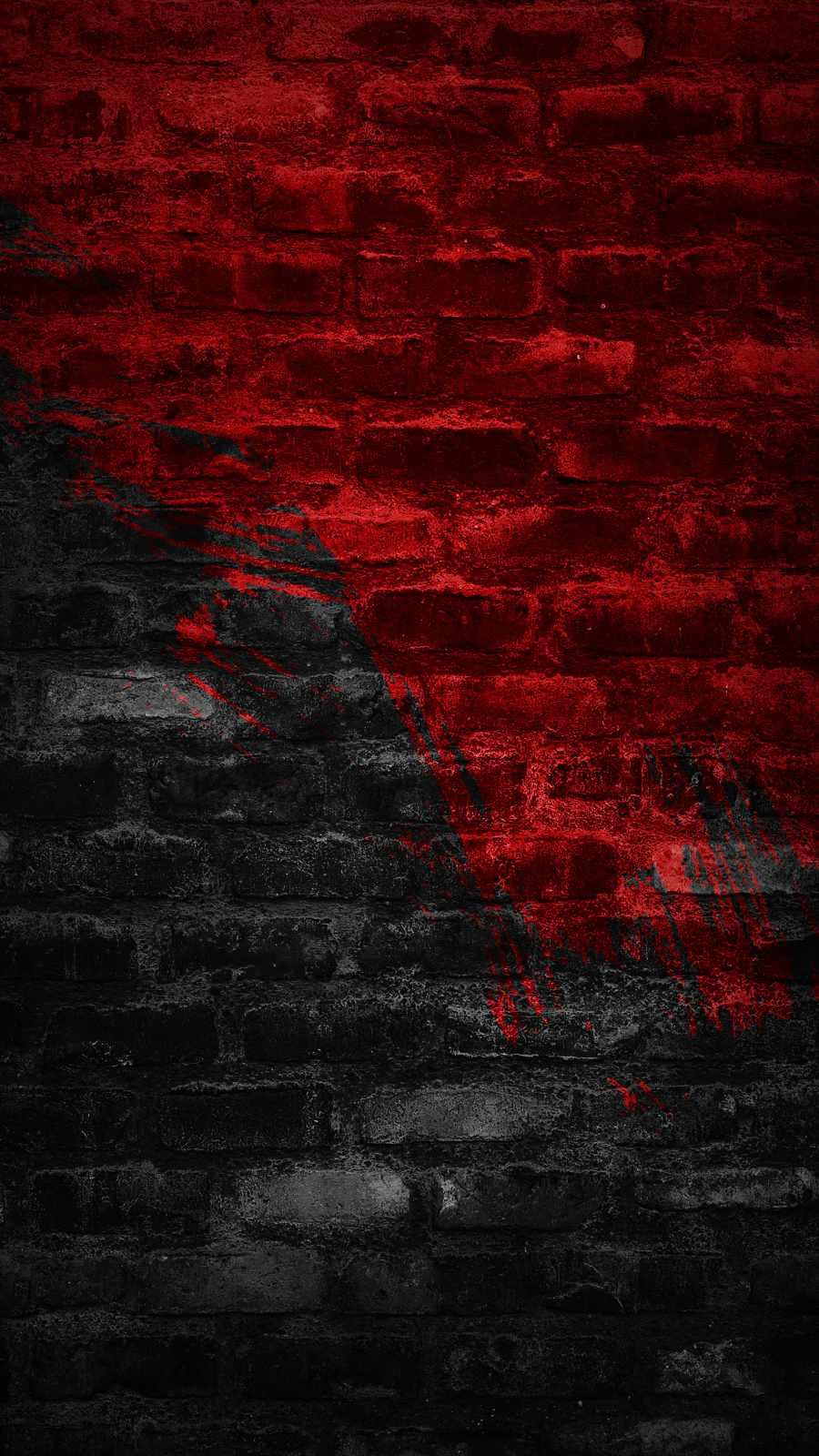 Red Bricks iPhone Wallpaper