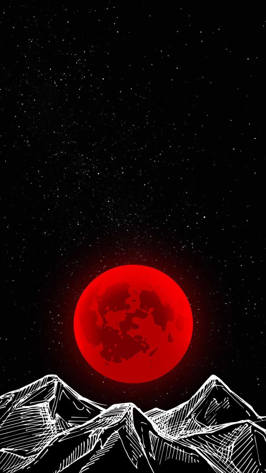 Red Moon Minimal