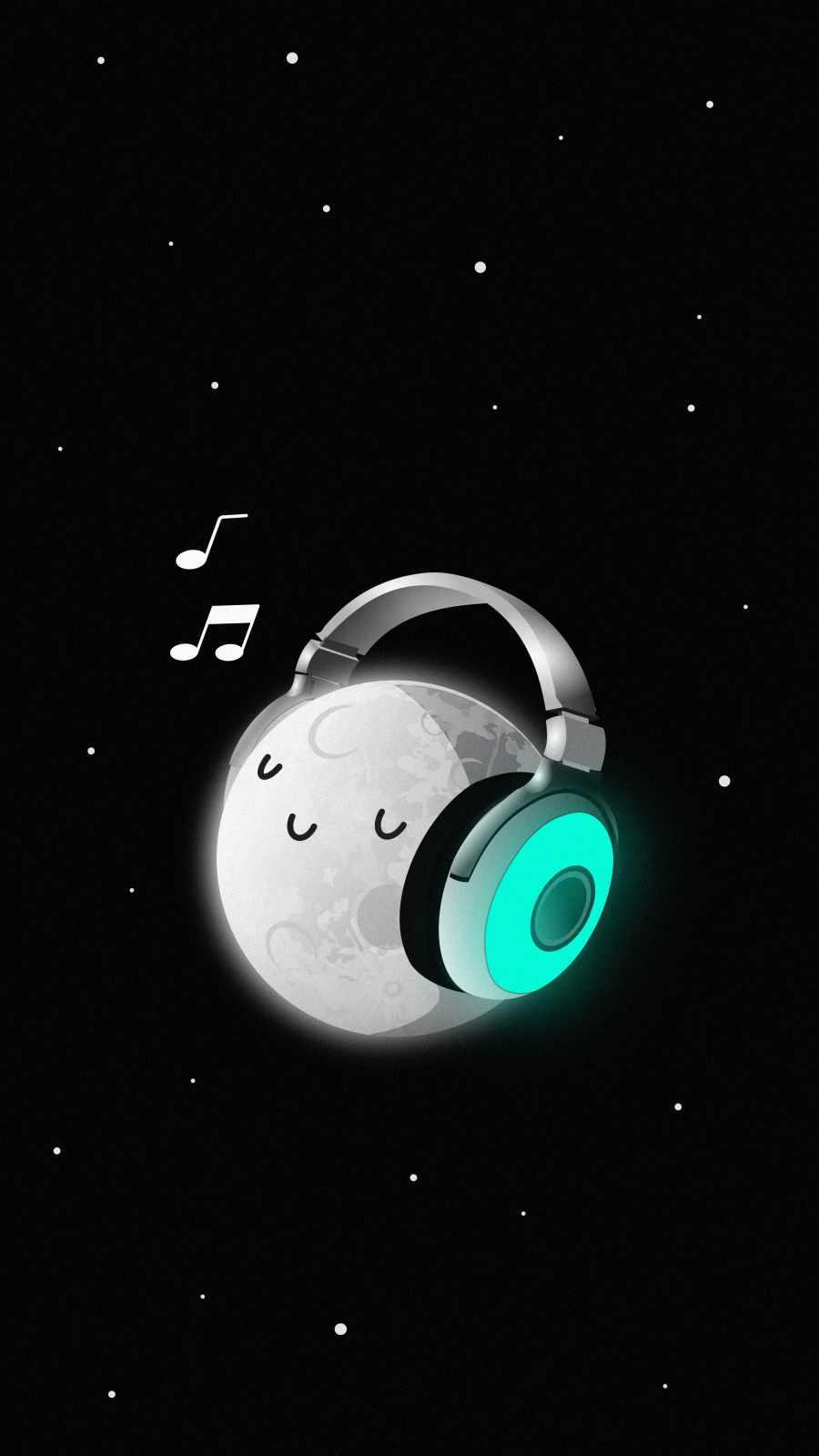Relaxing Music iPhone Wallpaper