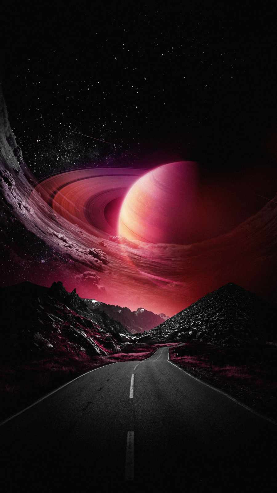 Road to Saturn Planet