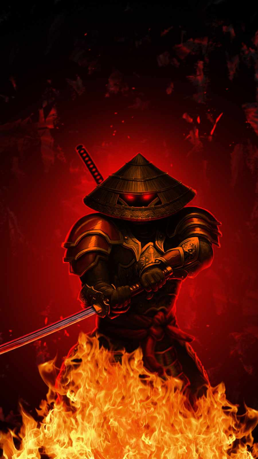 Samurai on Fire