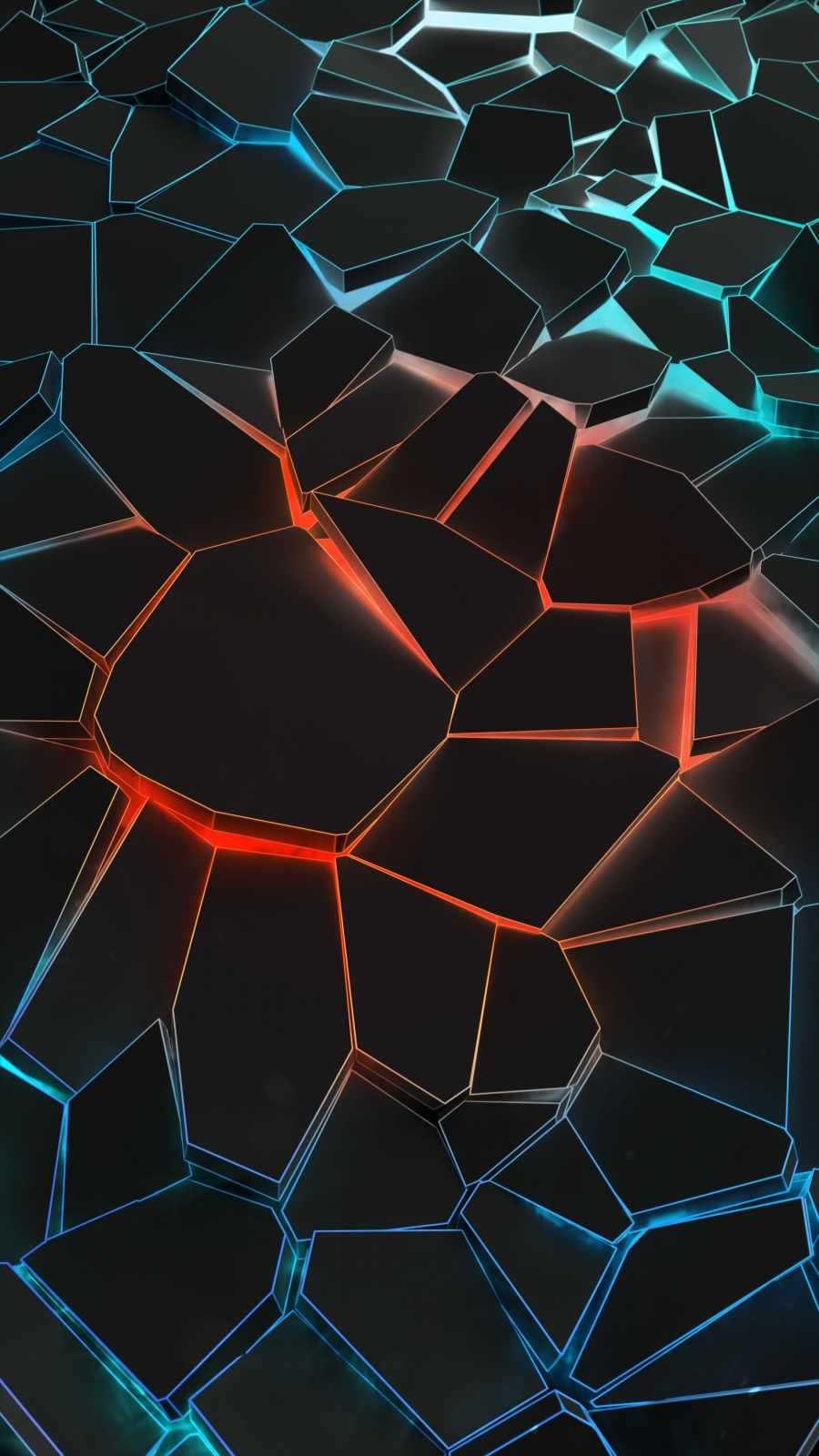 Shattered iPhone Wallpaper