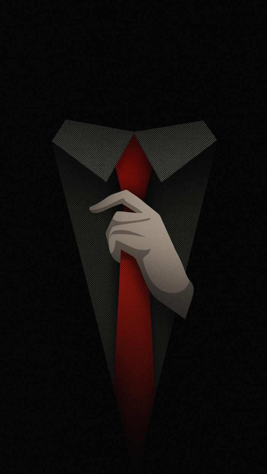 Suit and Tie iPhone Wallpaper
