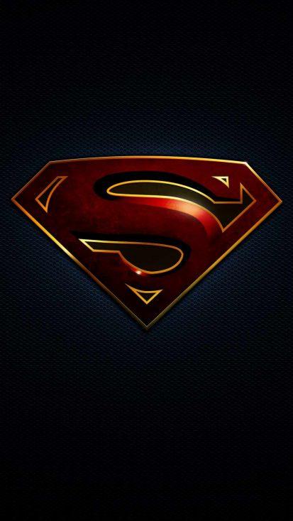 Superman Black Logo