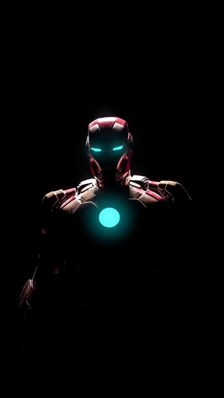 iron man arc reactor glowing