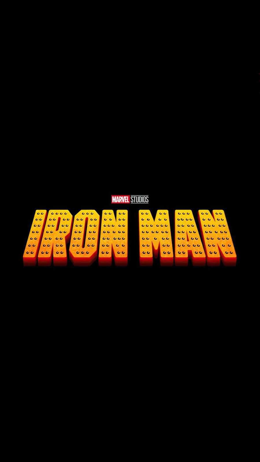 iron man movie typography