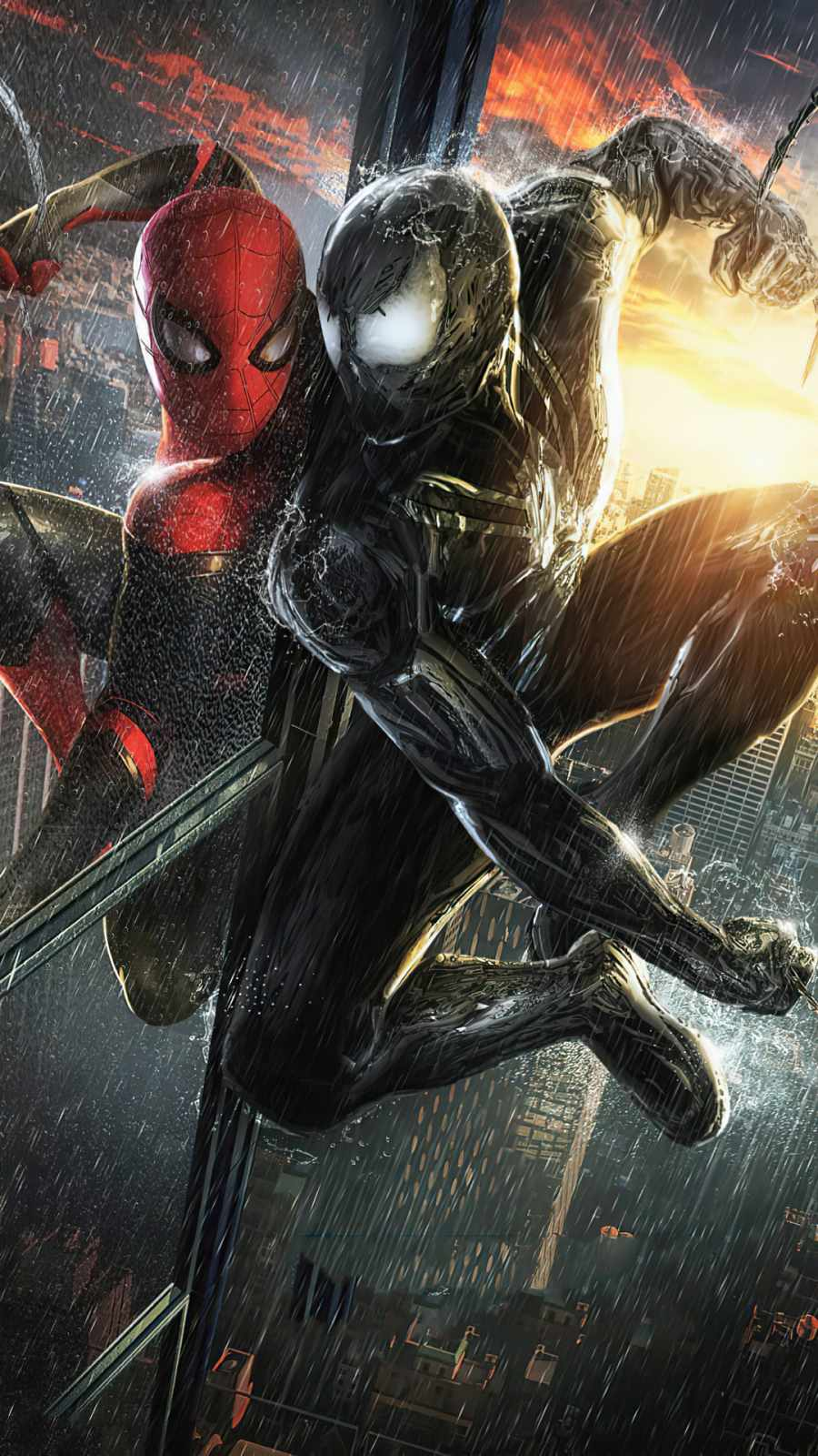 spider man v venom