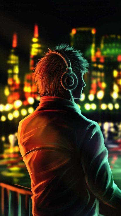 Alone Listening Music