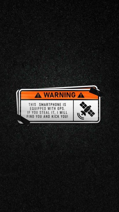 Anti Theft Warning