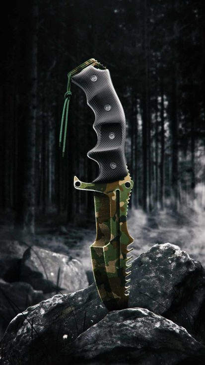 Army Knife iPhone Wallpaper