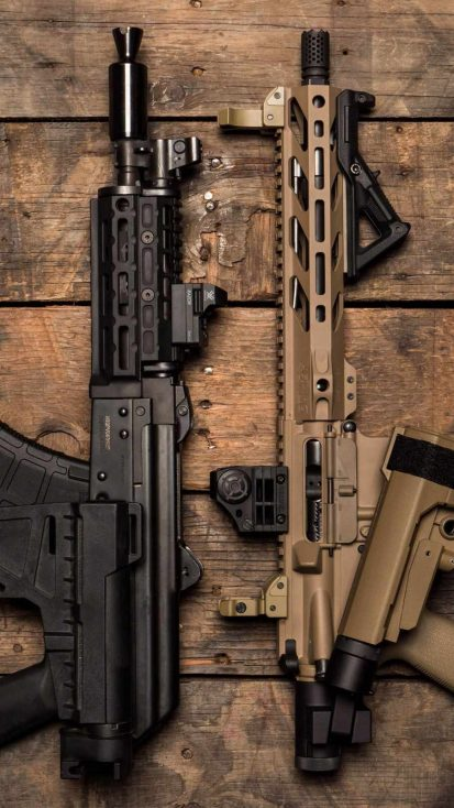 Army Weapons iPhone Wallpaper