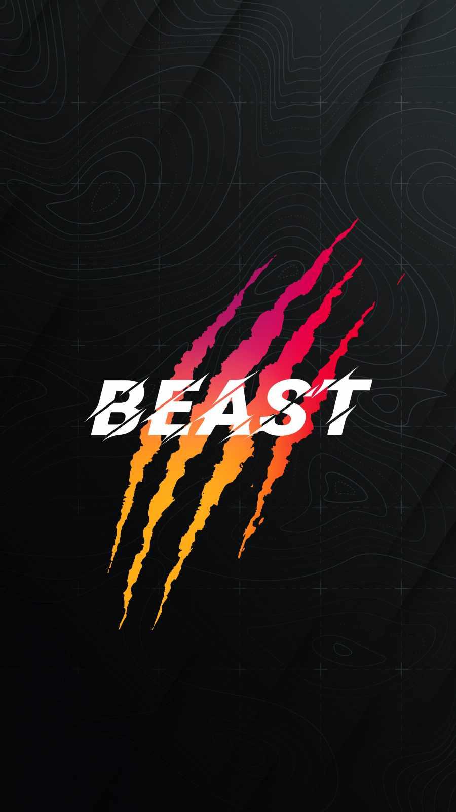 Beast Art iPhone Wallpaper