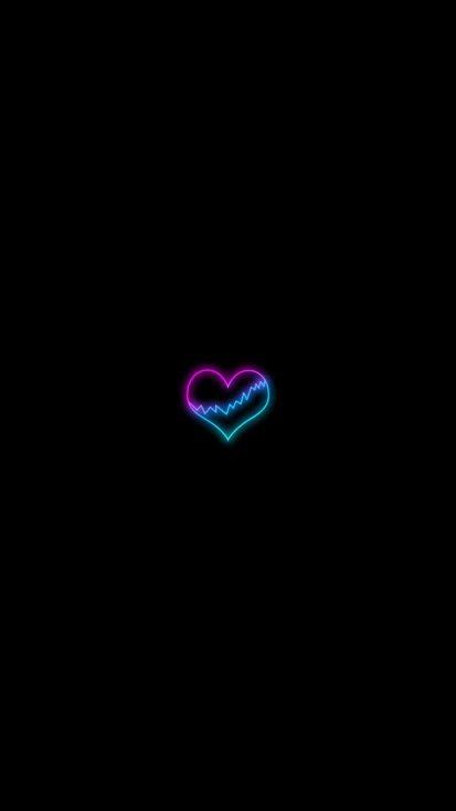 Broken Heart Simple Minimal