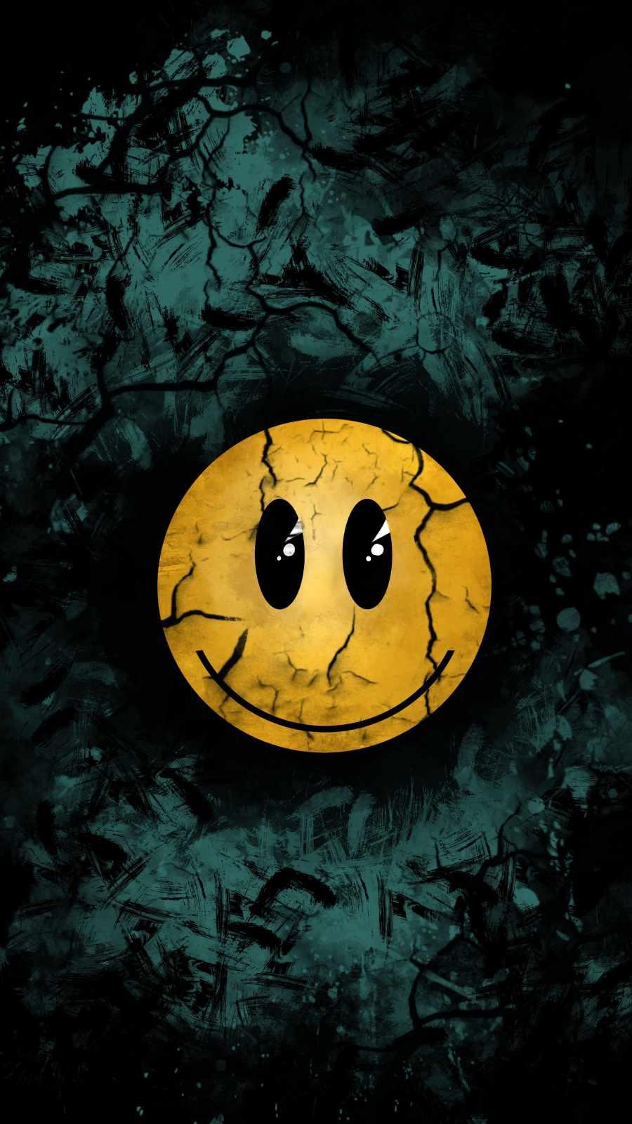 Broken Smile iPhone Wallpaper
