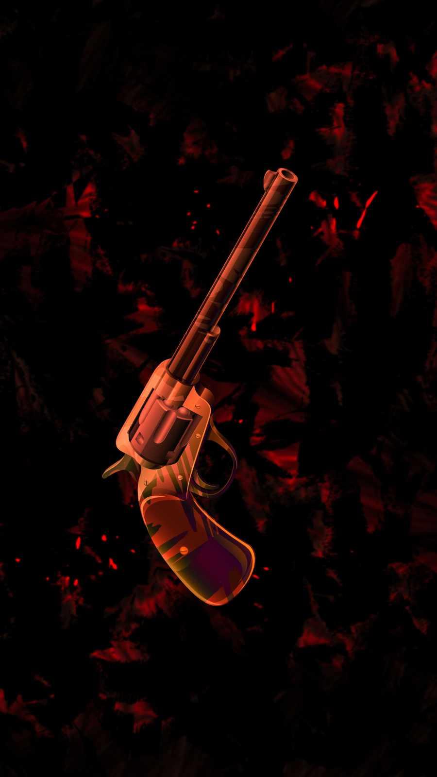 Classic Gun iPhone Wallpaper