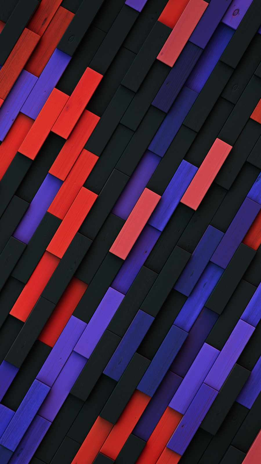Colorful Wood Tiles