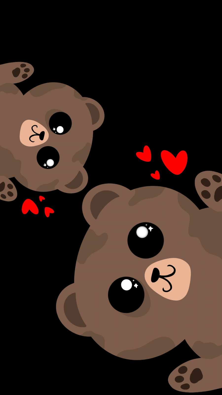 Cute Teddy iPhone Wallpaper