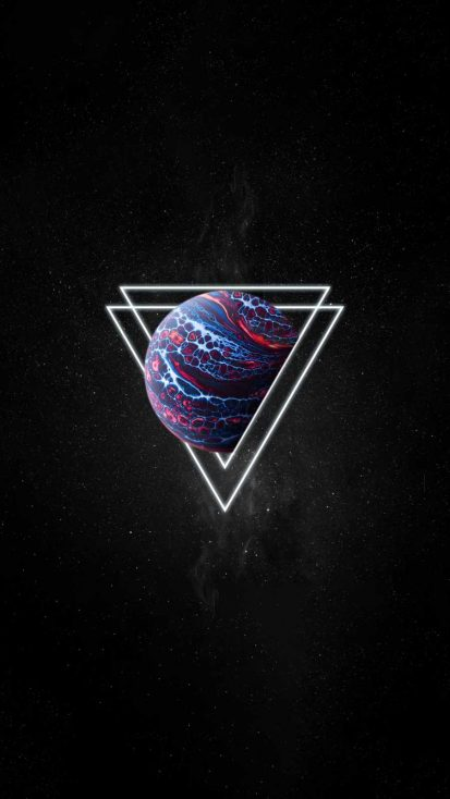 Deep Space Triangle Planet