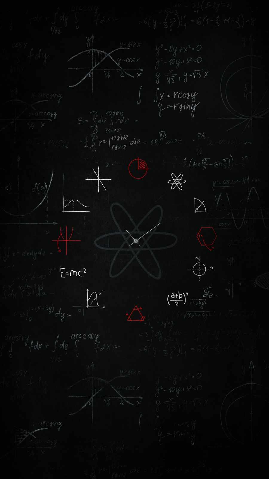 Einstein Physics iPhone Wallpaper