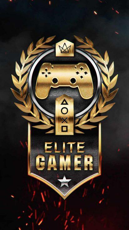 Elite Gamer iPhone Wallpaper