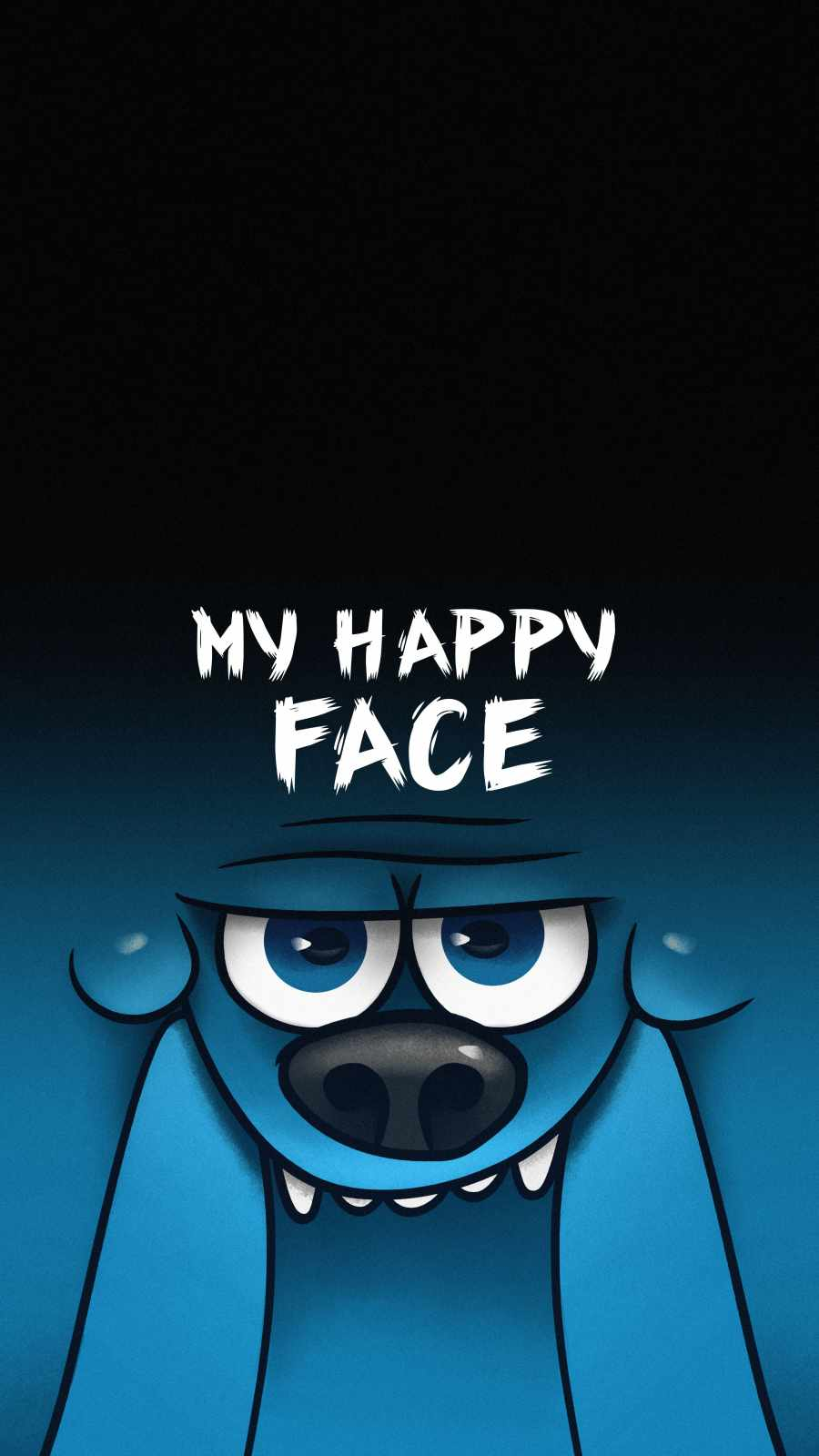 Happy Face iPhone Wallpaper