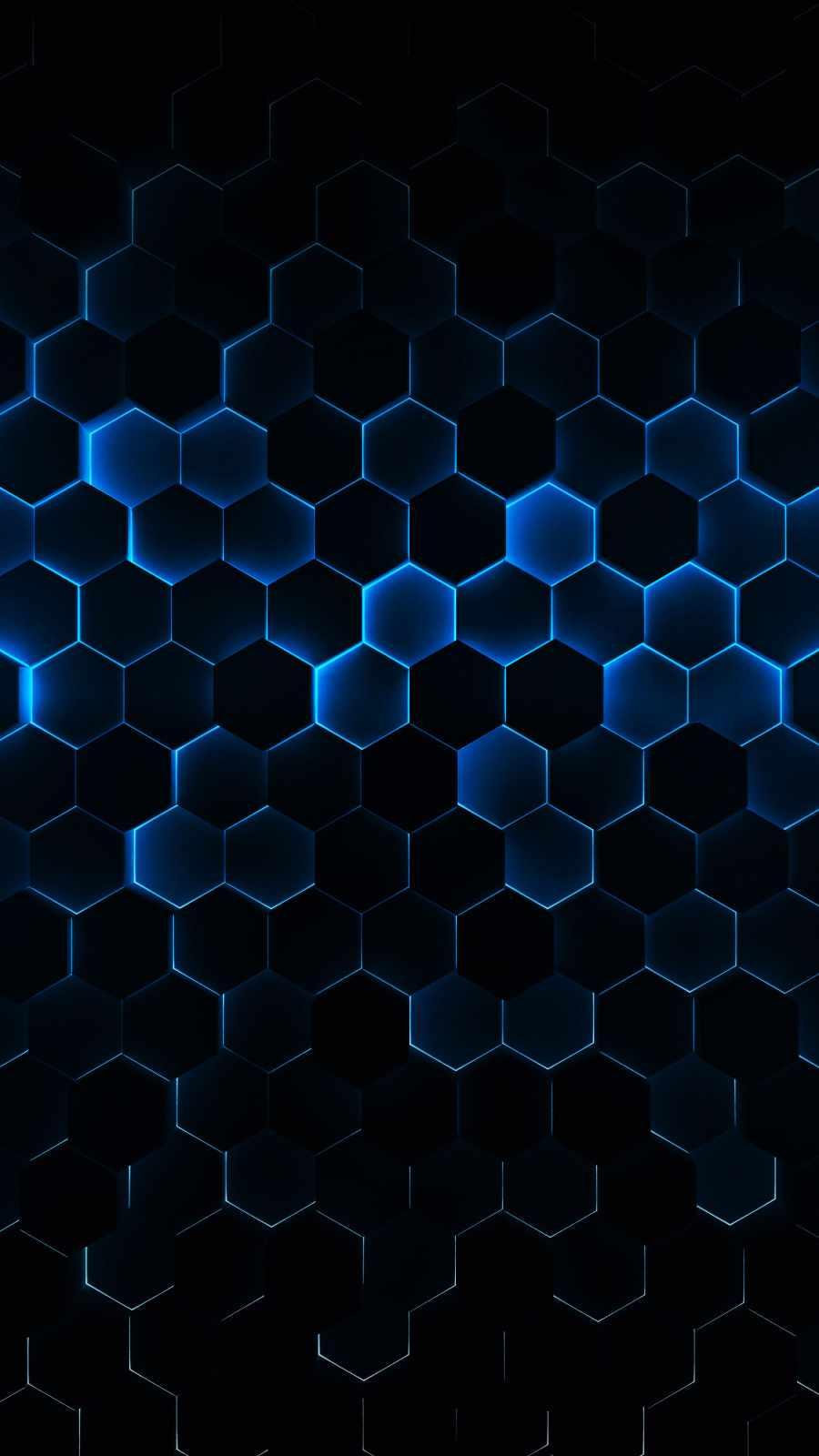 Hexagon 3D Neon